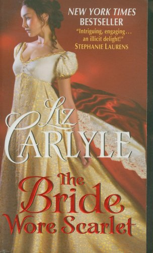 Book cover for The Bride Wore Scarlet