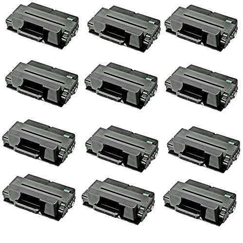 12-Pack Replacement Toner Cartridge for Samsung MLT-D203L, 5
