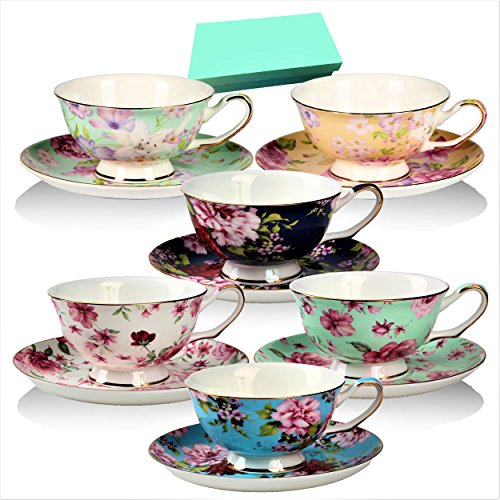 Porcelain China Tea Set - 3