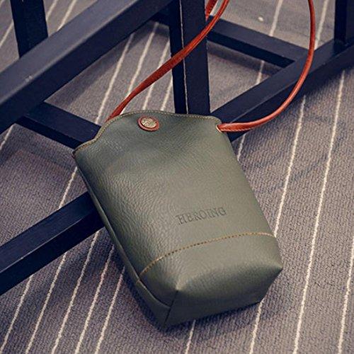 Svelte Petits bandoulière Sac à de sacs Femmes Sacs Messenger Vert à Crossbody portefeuille Sacs main Ea4Zqv