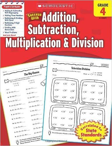Amazon.com: Scholastic Success with Addition, Subtraction ...