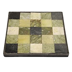 Outdoor Essentials 126923 17-7/8-inch Square, Tilestone Jade Square Stepping Stone