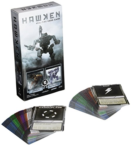 Hawken Real-Time Card Game: Scout vs. Grenadier (Hawken Game)