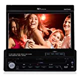 XO Vision XO407NAV In-Dash 7-Inch Touchscreen with DVD, CD, MP4 Receiver