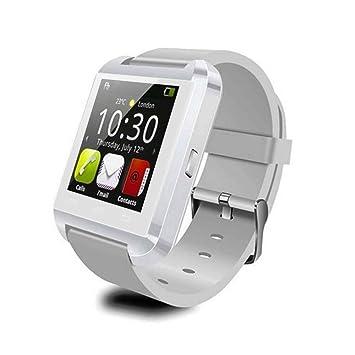 Universal Smartwatch U8 Bluetooth 3S 240 x 240 pixels para Android Samsung EU Enchufe (Blanco)