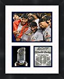 Houston Astros - MLB 2017 World Series Champions, 11 x 14 Matted Collage Framed Photos Ready to hang
