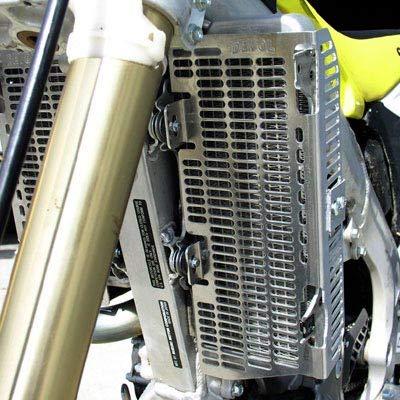 02-04 HONDA CR250: Devol Radiator Guards