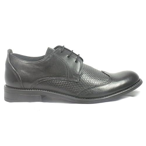 Lotus Zapatos de cordones para hombre negro negro: Amazon