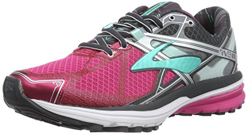 Brooks Ravenna 7, Zapatillas de Running para Mujer Multicolor (Fuchsia/Purple/Anthracite)