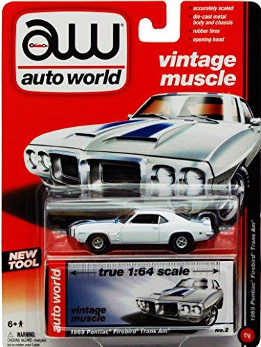 Auto World 1969 Pontiac Firebird Trans Am 1:64 Scale (1969 Pontiac Firebird Trans Am)