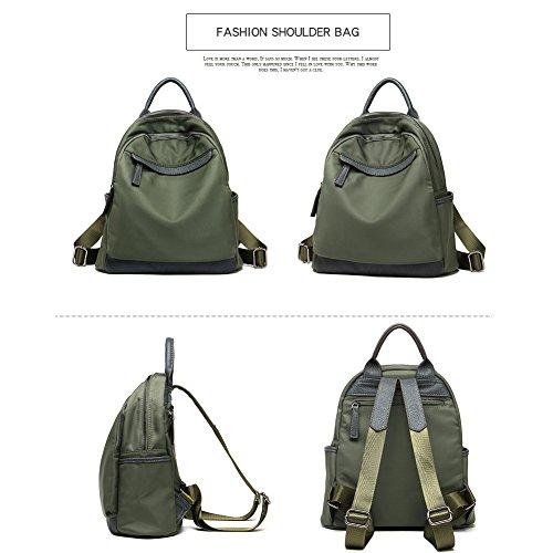 Design Vintage Simple Hangbag Bag Shoulder for Backpack Oxford Black Yoome Nylon Ladies wRABqXxa