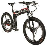 Image of Vilano PROTON Electric Folding Mountain Bike, 26-Inch Mag Wheels