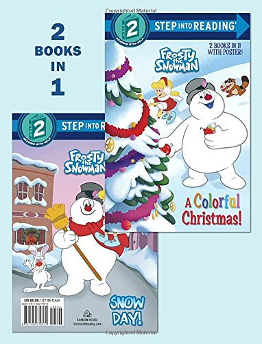 A Colorful Christmas!/Snow Day! (Frosty the Snowman) (Step into Reading)