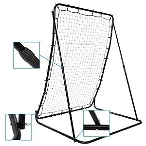Rebounder Multi-Sport Pitch Back Screen Baseball and Softball Rebounder/Training Screen (Type 1:Multi-Angle Adjustable)