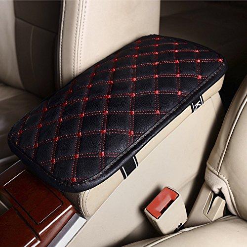 Kayshion Leather Car Auto Armrest Cover Universal Vehicle Center Console Armrest Seat Box Pads Protective Case Armrest Cushion 2916cm (Universal Center Armrest compare prices)