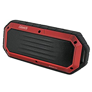 Coleman Aktiv Sounds Waterproof Bluetooth Slim-Line Speaker (CBT16-R)