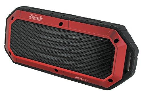 Coleman Aktiv Sounds Waterproof Bluetooth Slim-Line Speaker (CBT16-R) (Coleman Slimline compare prices)