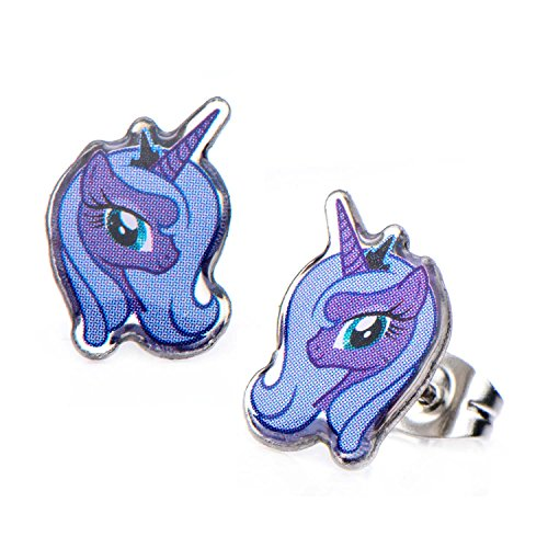 Pony Earring (MY LITTLE PONY SURGICAL STAINLESS STEEL EARRINGS (Princess Luna))