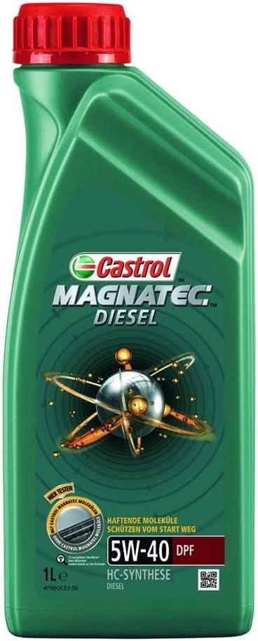 Castrol 1845080 151b6d Magnatec Diesel Dpf 5w 40 1l Auto