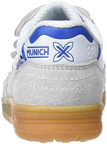 Munich 01 blanco Fitness Chaussures Mixte Enfant Gresca Vco Blanc De aW4Avaq