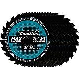 """Makita B-61656-10 24T Carbide-Tipped Max Efficiency Circular Saw Blade, Framing, 7-1/4"""""""