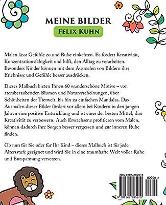 Malbuch Für Kinder Und Erwachsene Meine Bilder Ruhe