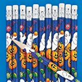 24 Pack - HALLOWEEN FUN HAUNTED HOUSE GHOST PENCILS