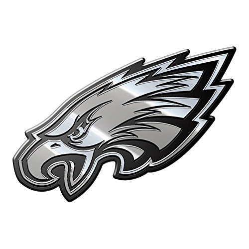 NFL Philadelphia Eagles Premium Metal Emblem, Blue, Stadard Size - Philadelphia Eagles Nfl Metal