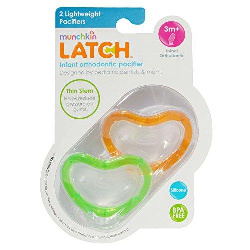 Munchkin Latch Lightweight Pacifier Months