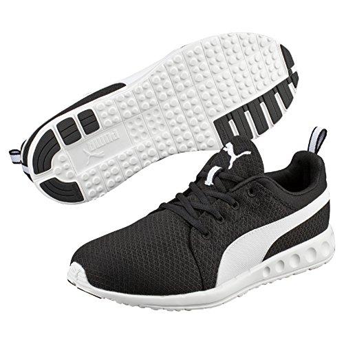 Puma Carson Mesh Zapatillas de Entrenamiento, Hombre Negro (Black-White 03 )