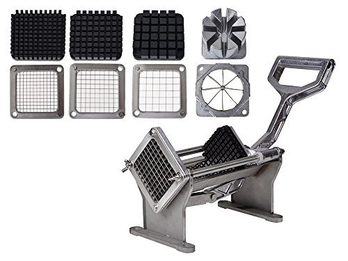 TMS® Potato French Fry Fruit Vegetable Commercial Cutter Slicer Cutting w/ 4 Blades by TMS T-Motorsports