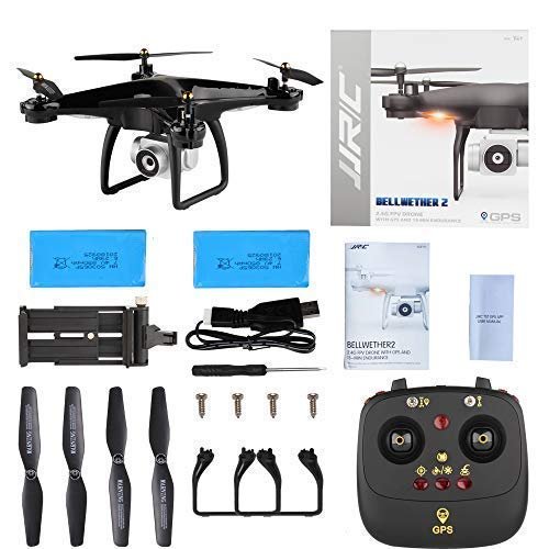 JJRC H68G GPS Return Home Drone Drone with 720P HD Camera Live Video 120° Wide-Angle 5G WiFi RC Drone Quadcopter with 980ft Control Distances, Follow Me, Altitude Hold Headless Mode Helicopter (Black) by JJRC (Image #7)