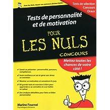 Tests de personnalité et de motivation pour les Nuls: Concours
