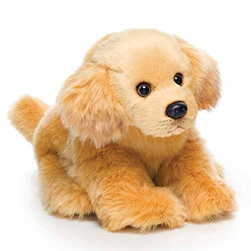 Nat and Jules Cuddly Small Golden Retriever Dog Carmel Brown Children's Plush Stuffed Animal -