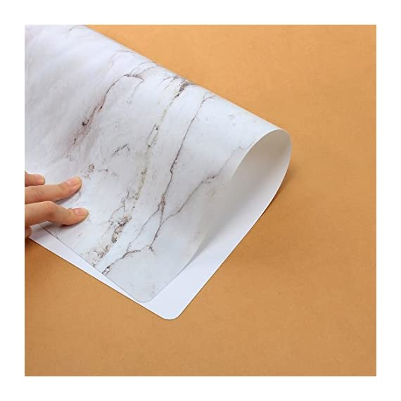 GENNISSY Marble Placemats for Dining Table Set of 6, Thin Environmental Materials Easy Clean for Kitchen Dinner Party((Marble) - 1.PP MATERIAL:Most seller chose PVC or Woven Vinyl, but we use different one, which is more environmental friendly and does no harm to our health. They might look really thin, but they are really heat resistant and can protect the table from scratches and stain. 2.WATERPROOF AND AIL RESISTANT:When the placemat is oiled, just wipe it with a damp cloth. It's no mold, matte finish.cleaning is also very convenient, the surface of the matte design makes your placemat wash with water and clean as new.placemat can be rolled up, but can not be folded. 3.INSULATION AND HIGH TEMPERATURE RESISTANCE, the product can withstand temperatures up to 248°F, good heat insulation. - placemats, kitchen-dining-room-table-linens, kitchen-dining-room - 51J4JqJGIzL. SS570  -