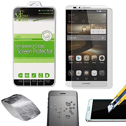 Xtra-Funky Huawei Ascend Mate 7 High Quality Real 100% Genuine Tempered  Glass Screen Protector