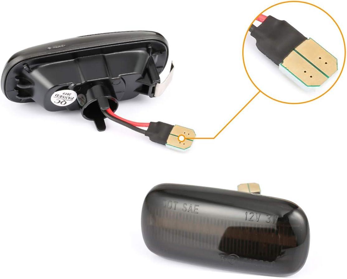 LED Dynamische Blinker Seitenmarkierung Seitenblinker Smoke