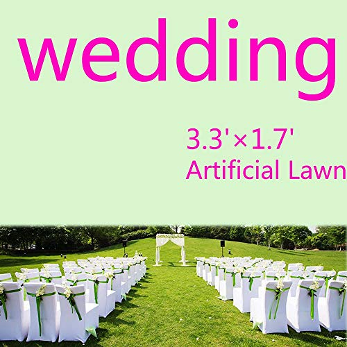 Wedding Decorations Lawn Artificial Turf Mat, Hotel Turf Residential Area Floor Decoration Lawn,suitable for Football Field Tennis Court Volleyball Court Baseball Field Hockey Field