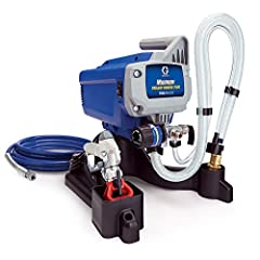 Whether you're a hobbyist, fixer-upper, or absolute beginner, Graco's DIY Series sprayers deliver amazing results. You'll complete your project in half the time it would take using brushes and rollers. This sprayer has the capacity to handle ...