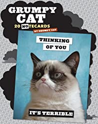 Grumpy Cat Notecards: 20 Notecards & Envelopes
