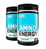 Optimum Nutrition Amino Energy, Cotton Candy, 30 Servings (2) For Sale