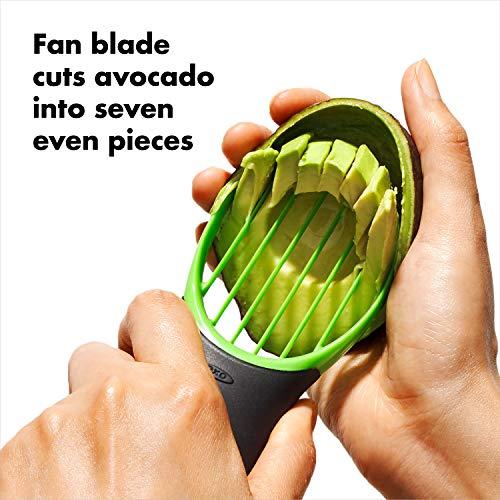 OXO Good Grips 3-in-1 Avocado Slicer – Green