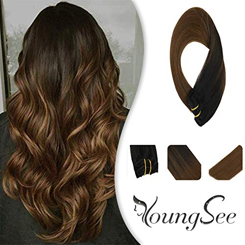 YoungSee 22inch Extensions Balayage Darkest