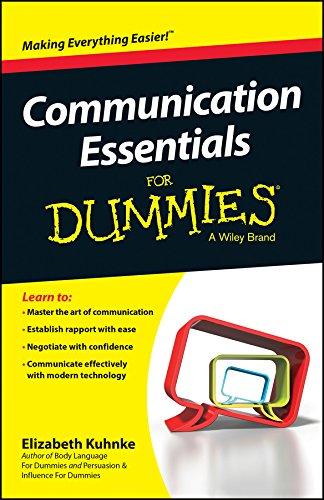 Communication Essentials for Dummies (2nd 2015) [Kuhnke]
