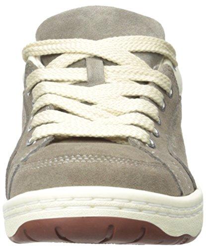 Eenvoudige Heren Os91-1 Mode Sneaker Taupe Suède