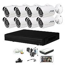iPower Security SCCVIC8B1080-2T 8 Channel 2TB HDD HD-CVI HDCVI 1080P DVR Security Surveillance System