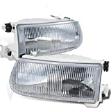 Holiday Rambler Endeavor 1998-2001 RV Motorhome Pair (Left & Right) Replacement Front Headlights with Bulbs