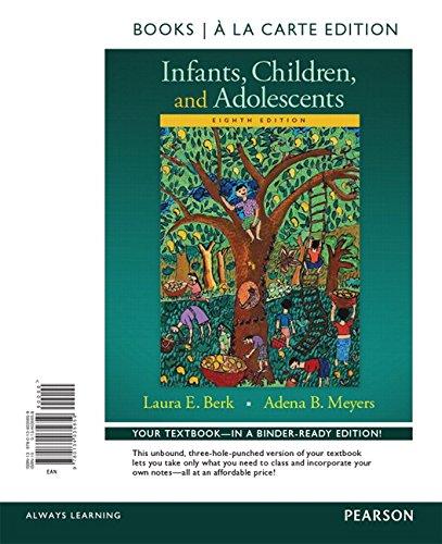 Infants,Children+Adolescents(Looseleaf)