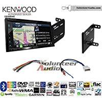 Volunteer Audio Kenwood Excelon DNX694S Double Din Radio Install Kit with GPS Navigation System Android Auto Apple CarPlay Fits 2012-2014 Nissan Versa