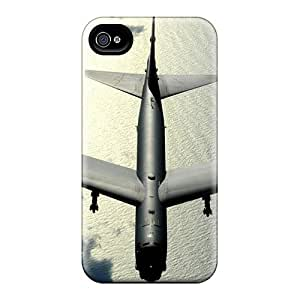 Special Skin Cases Covers For Iphone 6, Popular Airplane Flying Over The Ocean Phone Cases